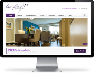 Website Design in Toronto for Interior Designers