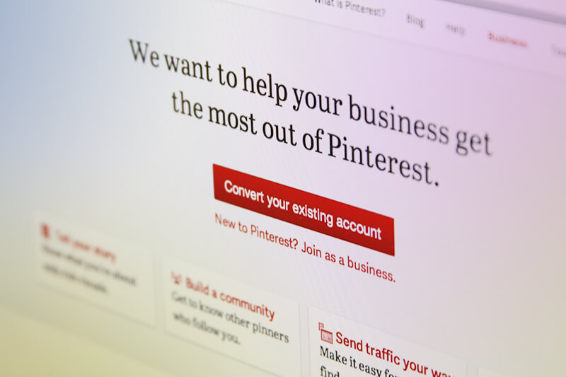 Pinterest Business Pages