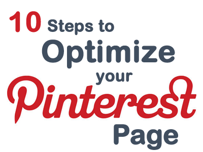 1- steps to optimize your Pinterest pages