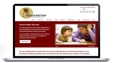Responsive Website Design Milton