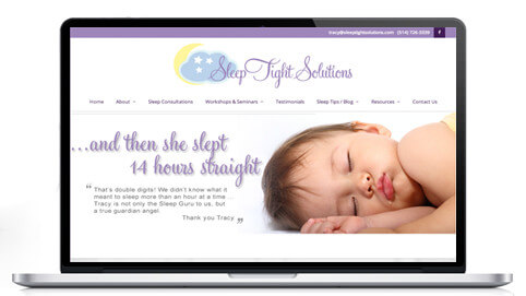Website Design for Sleep Consultants