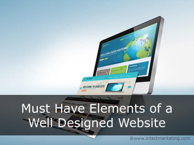 Must have elements of a well designed website